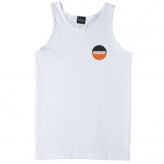 Bronson Speed Co Spot Logo Tank Top - White