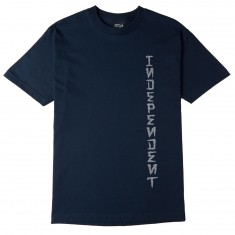 Independent Skateboard Trucks Dressen Monument T-Shirt - Navy