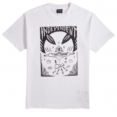 Independent Skateboard Trucks Hitz Ritual Decomissioning  T-Shirt - White