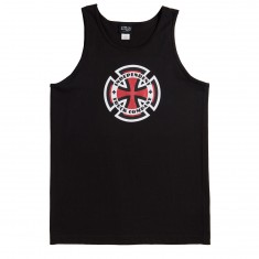 Independent Skateboard Trucks Ringed Cross Tank Top - Black
