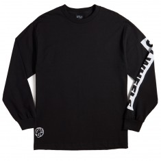OJ Wheels Bar Logo Long Sleeve T-Shirt - Black