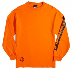 OJ Wheels Bar Logo Long Sleeve T-Shirt - Orange