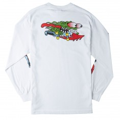 Santa Cruz Slasher Swords Long Sleeve T-Shirt - White