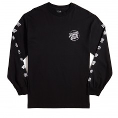 Santa Cruz Multi Cruz Long Sleeve T-Shirt - Black
