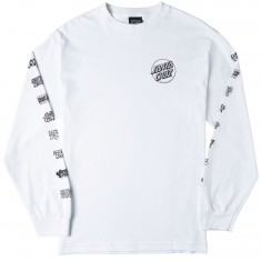 Santa Cruz Multi Cruz Long Sleeve T-Shirt - White