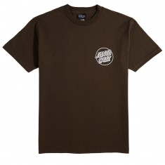 Santa Cruz Opus Spot T-Shirt - Dark Chocolate
