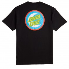 Santa Cruz Moon Dot Badge T-Shirt - Black