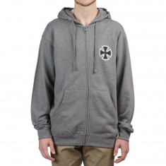 Independent BTGC Zip Hoodie - Gunmetal Heather