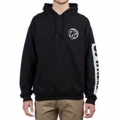 OJ Wheels Bar Logo Hoodie - Black