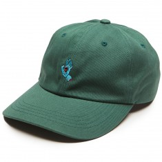 Santa Cruz Screaming Hand Baseball Hat - Spruce