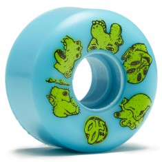 OJ Stearns Creatures Keyframe Skateboard Wheels - Blue - 56mm 101a