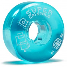 Ricta Super Crystals Skateboard Wheels - Blue - 51mm 99a