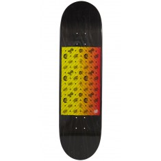 Santa Cruz SC Patterns Taper Tip Shaped Skateboard Deck - 8.5