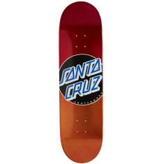 Santa Cruz Classic Dot Candy Fade Skateboard Deck - 8.5
