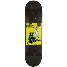 Santa Cruz Knox Cop Beater Popsicle Pro Skateboard Deck - 8.125