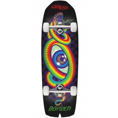 Santa Cruz Borden Hypno Preissue Shaped Skateboard Complete - 9.5