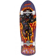 Santa Cruz Asta Comic Preissue Shaped Skateboard Complete - 9.42