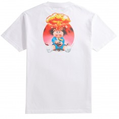 Santa Cruz X Garbage Pail Kids Adam Bomb T-Shirt - White
