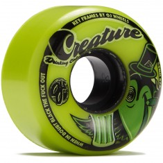 OJ Creature Drinking Club Keyframe Green 87a Skateboard Wheels - 54mm