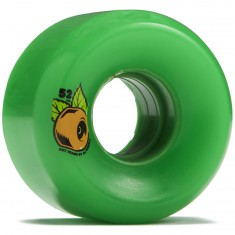 OJ Keyframe Green 87a Skateboard Wheels - 52mm