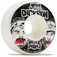 OJ Dickson We Eat People Insaneathane EZ EDGE 101a Skateboard Wheels - 52mm