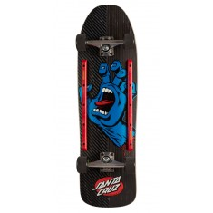 Santa Cruz Screaming Hand Metal Stripe Skateboard Complete - 9.35""