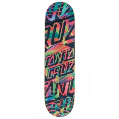 Santa Cruz Acid Dot Everslick Skateboard Deck - 8.25""