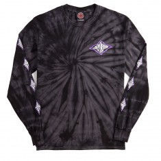 Independent Evan Smith Warped Cross Long Sleeve T-Shirt - Spider Black
