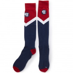 Stinky Socks The Family Snowboard Socks - Red/Blue