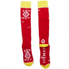 Stinky Socks Red Kitka Snowboard Socks - Red