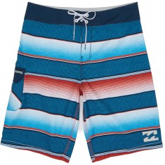 Billabong All Day OG Stripe Boardshorts - Red