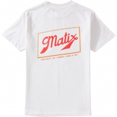 Matix Sixer Pocket T-Shirt - White