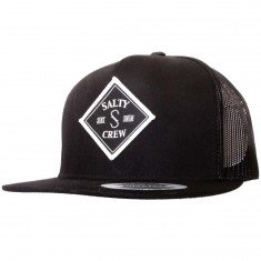 Salty Crew Tippet Trucker Hat - Black