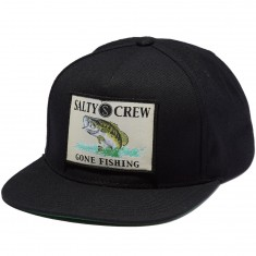 Salty Crew Big Mouth Hat - Black
