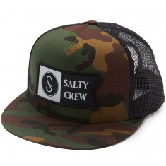 Salty Crew Alpha Trucker Hat - Camo
