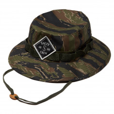 Salty Crew Tippet Patched Bucket Hat - Tiger
