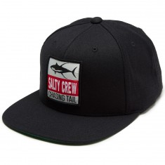 Salty Crew Sickle Fin Hat - Black
