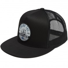 Salty Crew Tails Up Trucker Hat - Black
