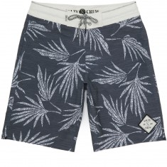 Salty Crew Palm Deck Boardshorts - Black