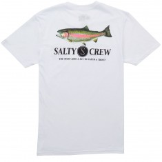 Salty Crew Rainbow T-Shirt - White