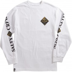 Salty Crew Tippet Camo Long Sleeve T-Shirt - White