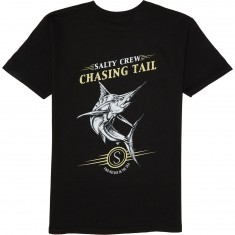 Salty Crew Chasing Billfish T-Shirt - Black