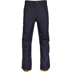 686 Raw Insulated Snowboard Pants - Navy Denim