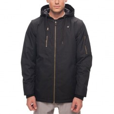 686 Riot Insulated Snowboard Jacket - Black Oxford