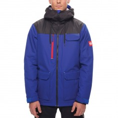 686 Sixer Insulated Snowboard Jacket - Colbalt PBR