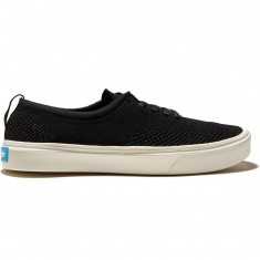 People Stanley Knit Shoes - Really Black/Picket White