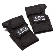 187 Wrist Guard Pads - Black