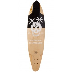 """Goldcoast The Dead Days 36"""" Pintail Longboard Deck"""