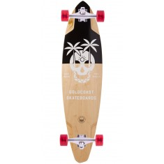 "Goldcoast The Dead Days 36"" Pintail Longboard Complete"