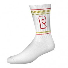 Psockadelic Psock Ramin *Smells Like Chicken Socks - White/Gold